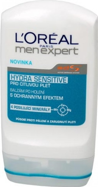 Loreal Paris Balzám po holení Hydra Sensitive (Men expert) 100 ml