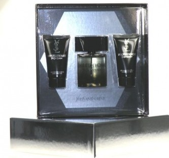 Yves Saint Laurent La Nuit De L Homme EdT 100 ml + 50 ml balsam po holení + 50 ml sprchový gel