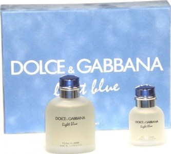 Dolce & Gabbana Light Blue Pour Homme EdT 125 ml + EdT 40 ml