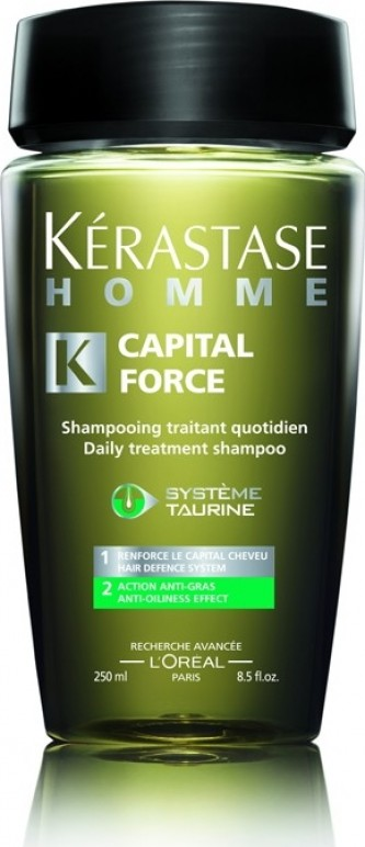 KERASTASE Homme BAIN CAPITAL FORCE Anti - Oiliness Effect 250ml