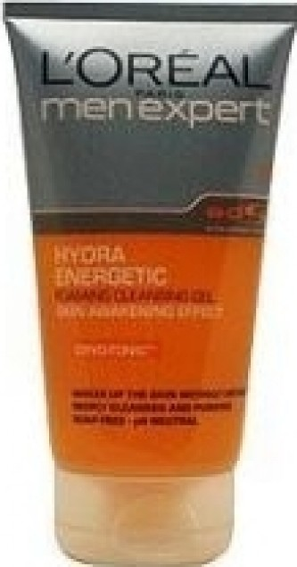 LOREAL Men Expert Hydra Energetic Foaming Cleansing Gel 150ml