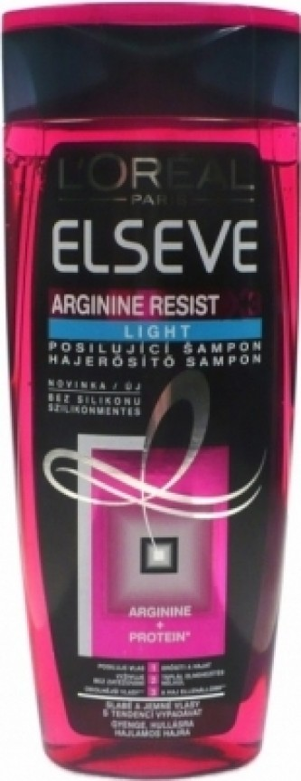 Loreal Paris Posilující šampon Elseve Arginine Resist X3 LIGHT Objem 400 ml