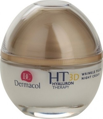 Dermacol Hyaluron Therapy 3D Night Cream 50 ml Remodelační noční krém