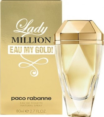 Paco Rabanne Lady Million Eau My Gold! Toaletní voda 80 ml tester