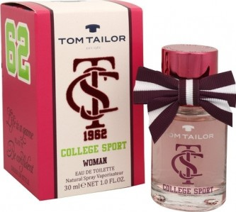 Tom Tailor College Sport Woman toaletní voda 50 ml