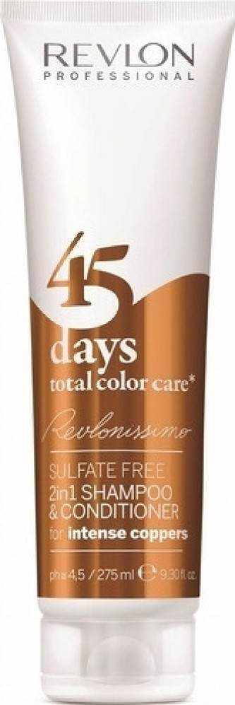 Revlon Professional Šampon a kondicionér pro intenzivní měděné odstíny 45 days total color care (Shampoo&Conditioner Int