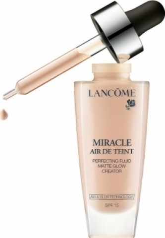 Lancome Tekutý make-up Miracle Air de Teint SPF 15 (Perfecting Fluid Matte Glow Creator) 30 ml Odstín 010 Beige Porcelaine