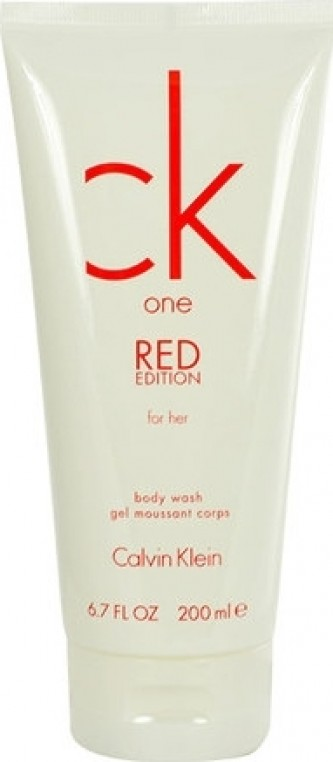 Calvin Klein CK One Red Edition for Her Sprchový gel 200 ml