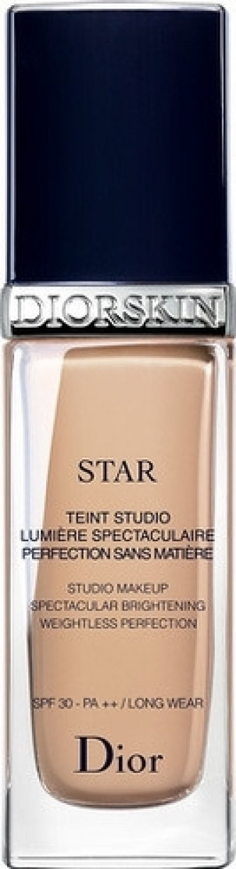 Dior Rozjasňující tekutý make-up SPF 30 (Diorskin Star Studio Make-up) 30 ml Odstín 010 Ivoire