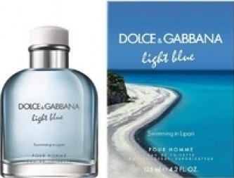Dolce Gabbana Light Blue pour Homme Swimming in Lipari Toaletní voda Tester 125 ml