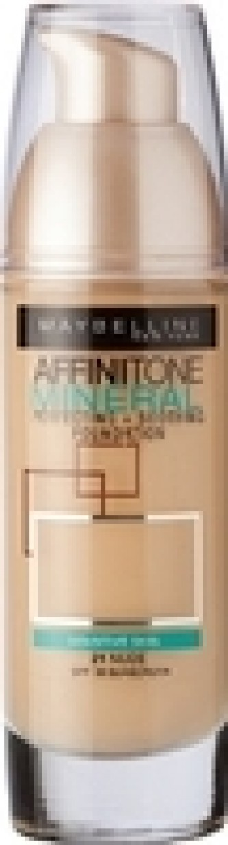 Maybelline Affinitone Mineral Foundation - Tekutý minerální make-up 30ml