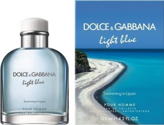 Dolce & Gabbana Light Blue Swimming In Lipari Pour Homme toaletní voda 40 ml