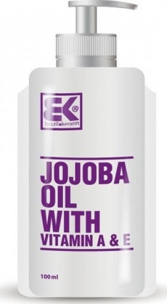 Brazil Keratin Jojobový olej (Jojoba Oil with Vitamin A & E) 100 ml