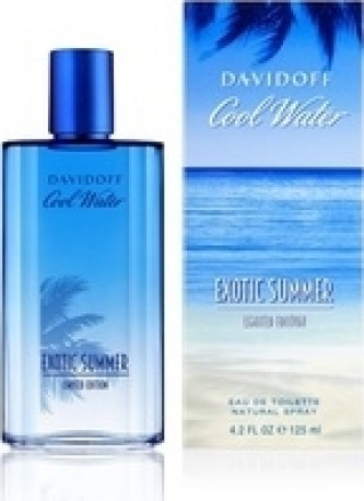 Davidoff Cool Water Man Exotic Summer Toaletní voda 125 ml