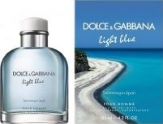 Dolce Gabbana Light Blue pour Homme Swimming in Lipari Toaletní voda 125 ml