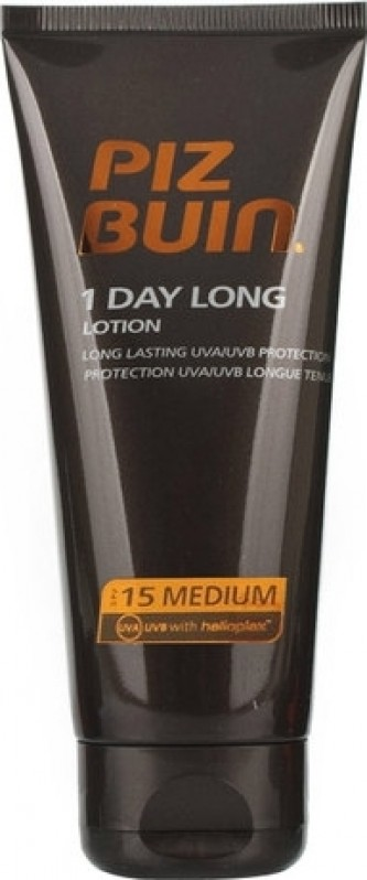 Piz Buin 1 Day Long Lotion SPF15 100 ml Celodenní ochrana