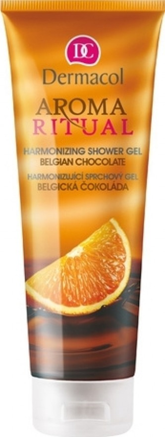 Dermacol Aroma Ritual Shower Gel Belgian Chocolate 250 ml Belgická čokoláda
