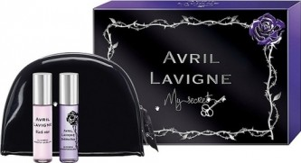Avril Lavigne My Secret Black Star EdP 10 ml + Forbidden Rose EdP 10 ml