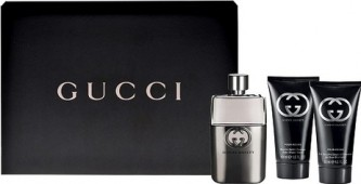 Gucci Guilty pour Homme EdT 90 ml + balzam poslije brijanja 75 ml + gel za tuširanje 50 ml