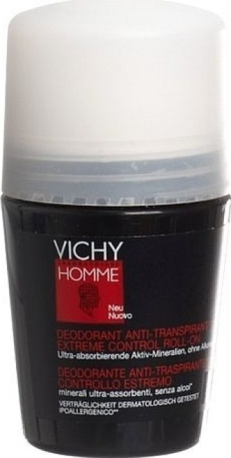 Vichy Homme Deo Antiperspirant Roll-on 50 ml