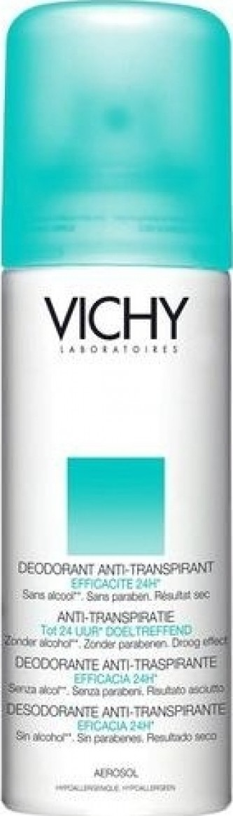 Vichy Deodorant Antiperspirant 24h 125 ml Spray