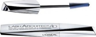 L'Oreal Paris Lash Architect 4D Mascara Black Maskara za duže i bujnije trepavice 10,5 ml nijansa Black