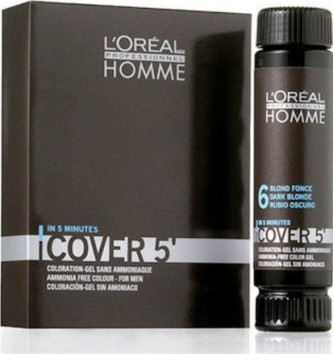 L´Oreal Paris Homme Cover 5 Hair Color 3x50 ml Barva na vlasy