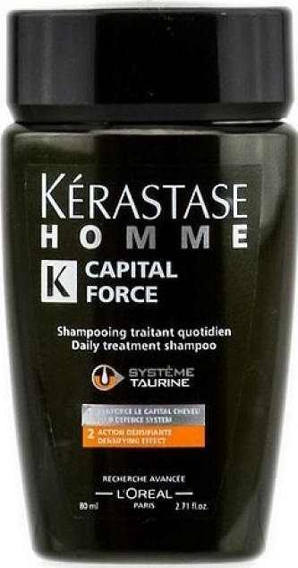 Kerastase Homme Capital Force Daily Treatment Shampoo Šampon za svakodnevnu uporabu za muškarce 250 ml
