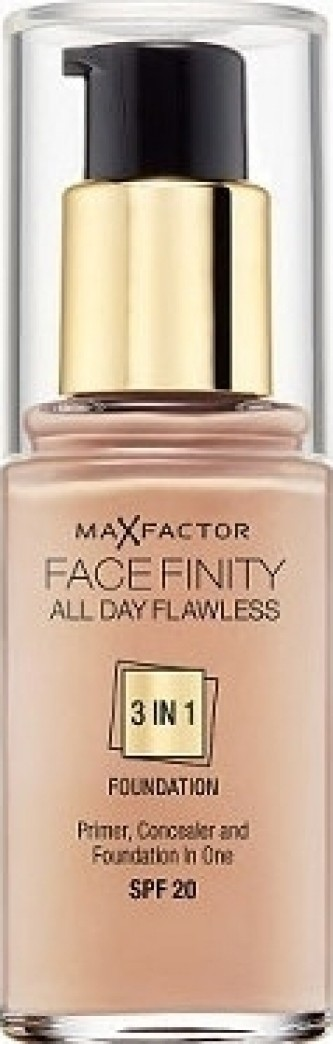 Max Factor Face Finity 3in1 Foundation SPF20 30 ml