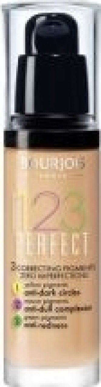 Bourjois 123 Perfect Foundation - Make-up pro perfektní pleť 30 ml 51 Vanille Clair