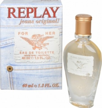 Replay Replay Jeans Original For Her toaletní voda 40 ml