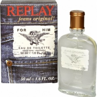 Replay Replay Jeans Original For Him toaletní voda 50 ml