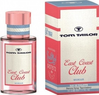 Tom Tailor East Coast Club Woman toaletní voda 30 ml