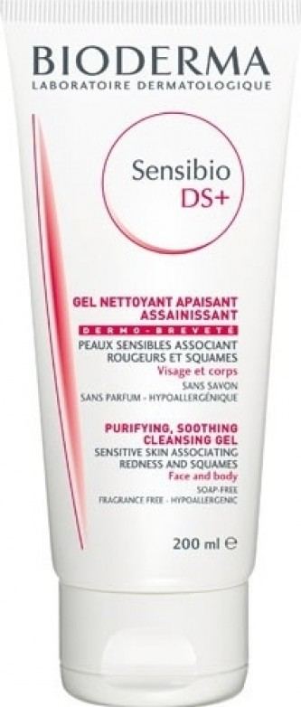 Bioderma Sensibio DS+ Cleansing Gel Pjenušavi gel za čišćenje lica 200 ml