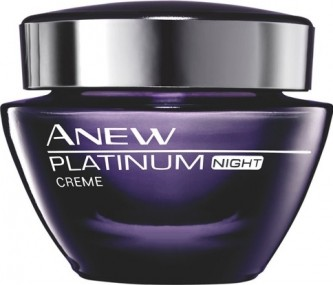 Avon Anew Platinum Night Cream Noćna krema protiv bora 50 ml