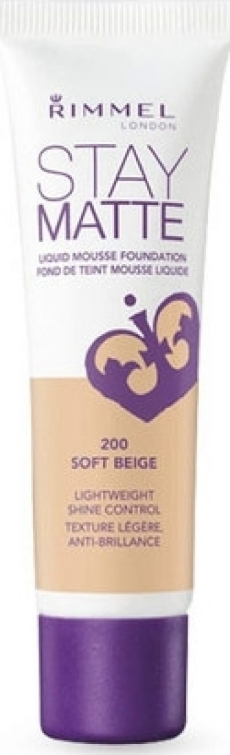 Rimmel London Stay Matte Liquid Mousse Foundation 30 ml