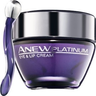 Avon Anew Platinum Eye & Lip Cream Krema za usne i područje oko očiju 15 ml
