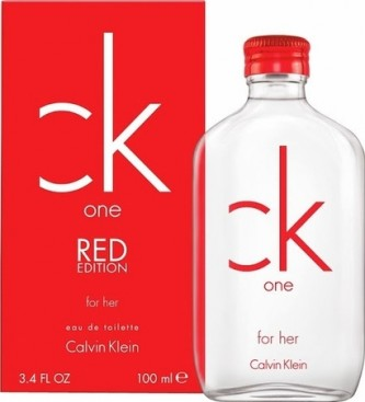 Calvin Klein One Red Edition for Her EdT 100 ml