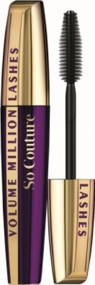 Loreal Paris Objemová řasenka Volume Million Lashes So Couture 9,5 ml Odstín Black