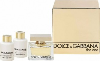 Dolce & Gabbana The One EdP 75 ml + těl. mléko 100 ml + sprch. gel 100