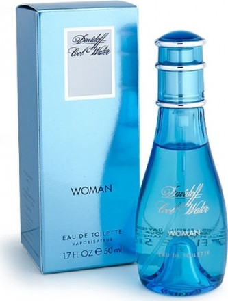 Davidoff Cool Water for Women toaletní voda 50 ml